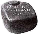 The Stirling Stone-dated 1511.